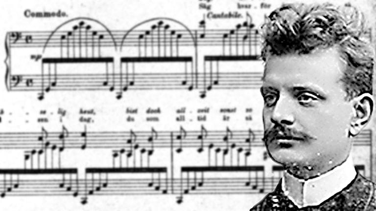 Jean Sibelius och noter.