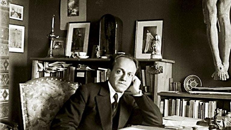 Självporträtt av Ernest Bloch 1916.