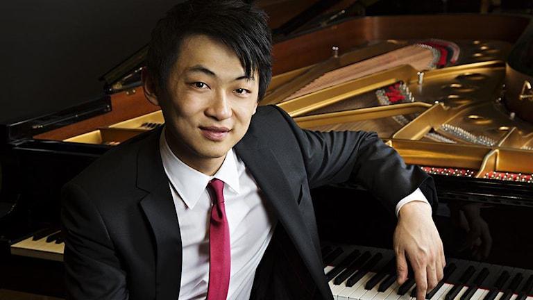 David Huang vid piano.