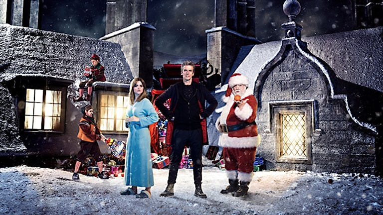 Doctor Who Christmas special.