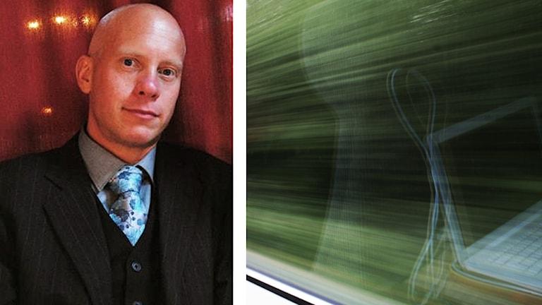 Adam Källström, lokförare.