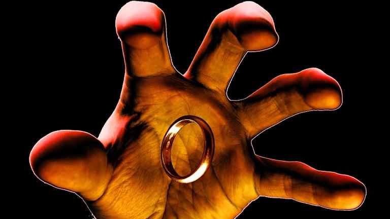 Sagan om ringen ringen.