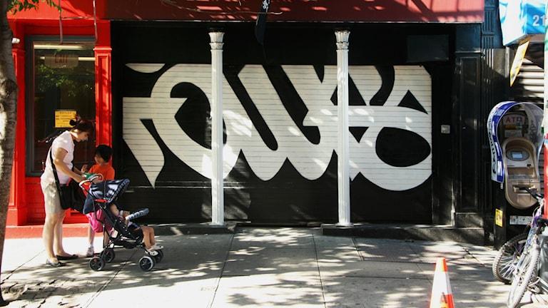 Faust-grafitti.