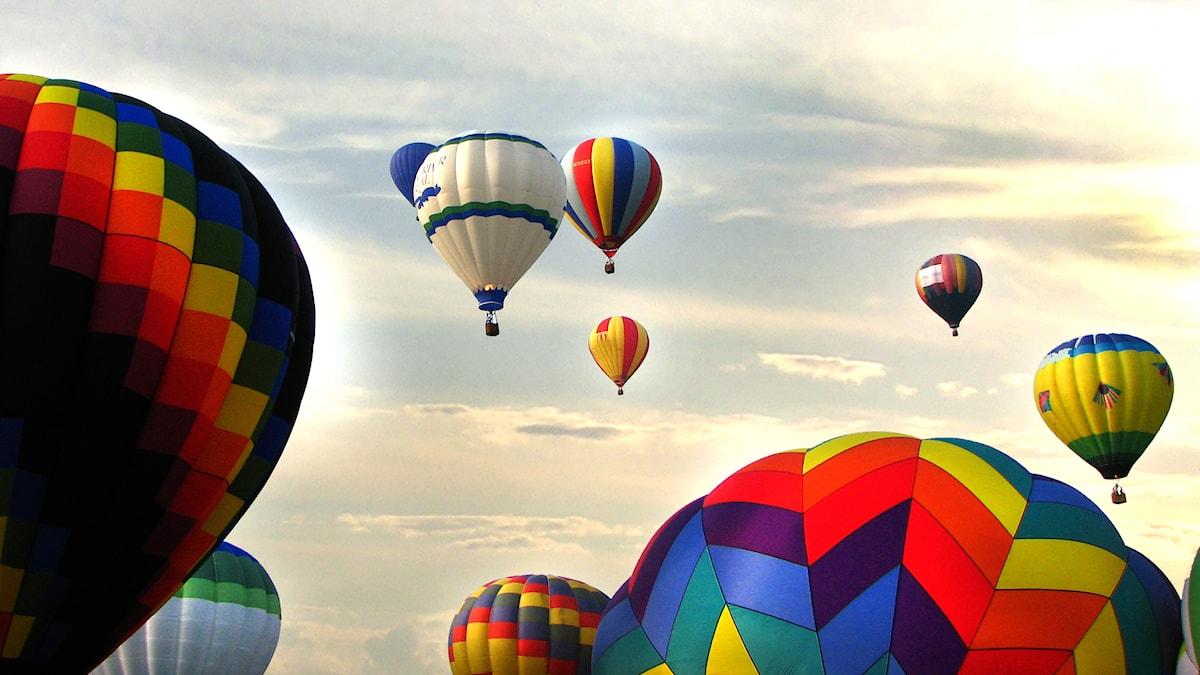 Luftballonger.
