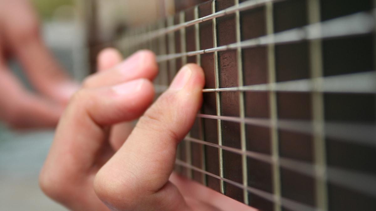 Klassisk gitarr.