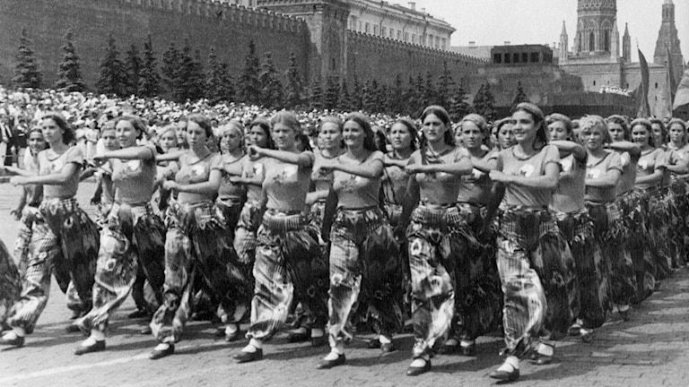 Parad i Moskva (Foto: SVT Bild)
