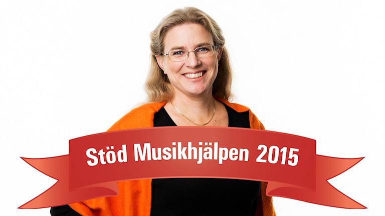 Pernilla Eskilsdotter (Foto: Mattias Ahlm/Sveriges Radio)