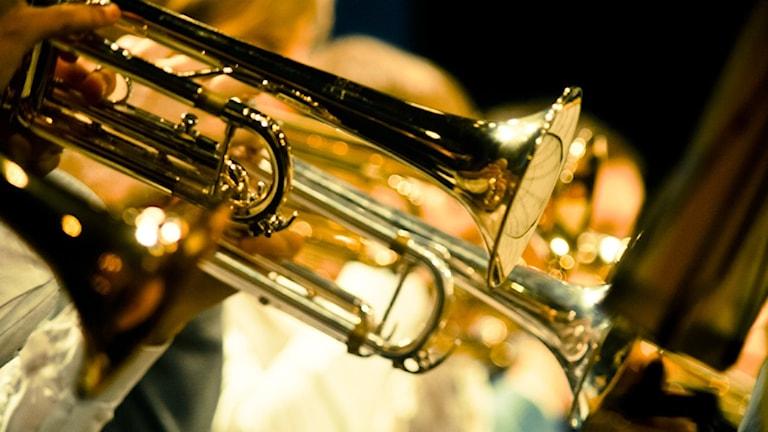 Blåsorkester.