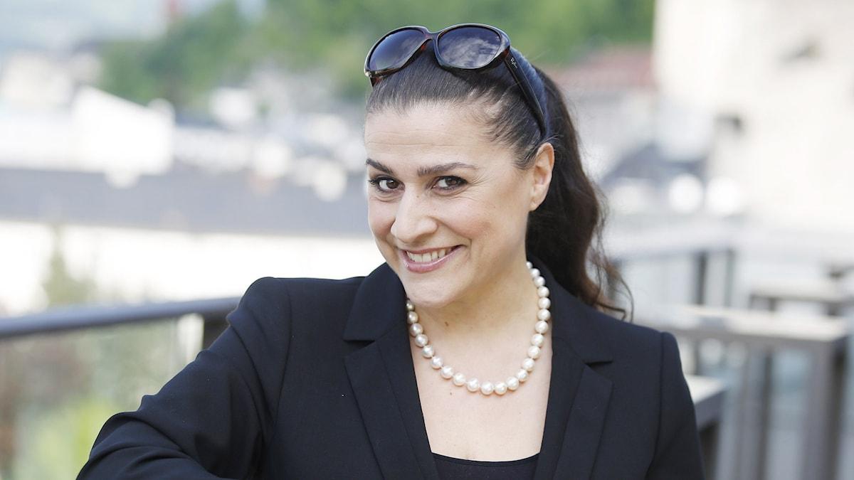 Italienska mezzosopranen Cecilia Bartoli tilldelas Polarpriset 2016.