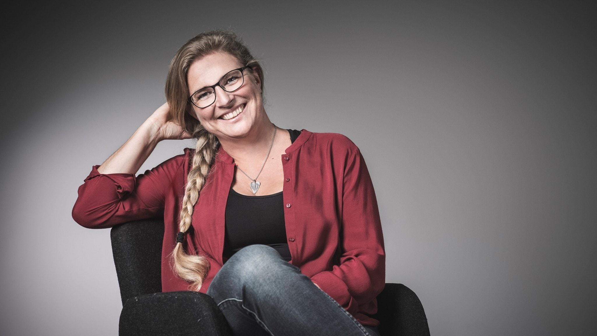 Pernilla Eskilsdotter, programledare för Klassisk morgon i P2, Sveriges Radio.