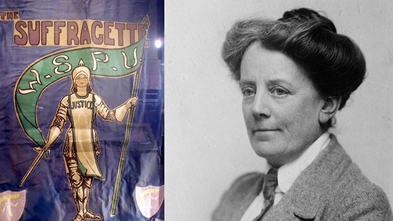 Suffragette i Leeds och kompositören Ethel Smythe