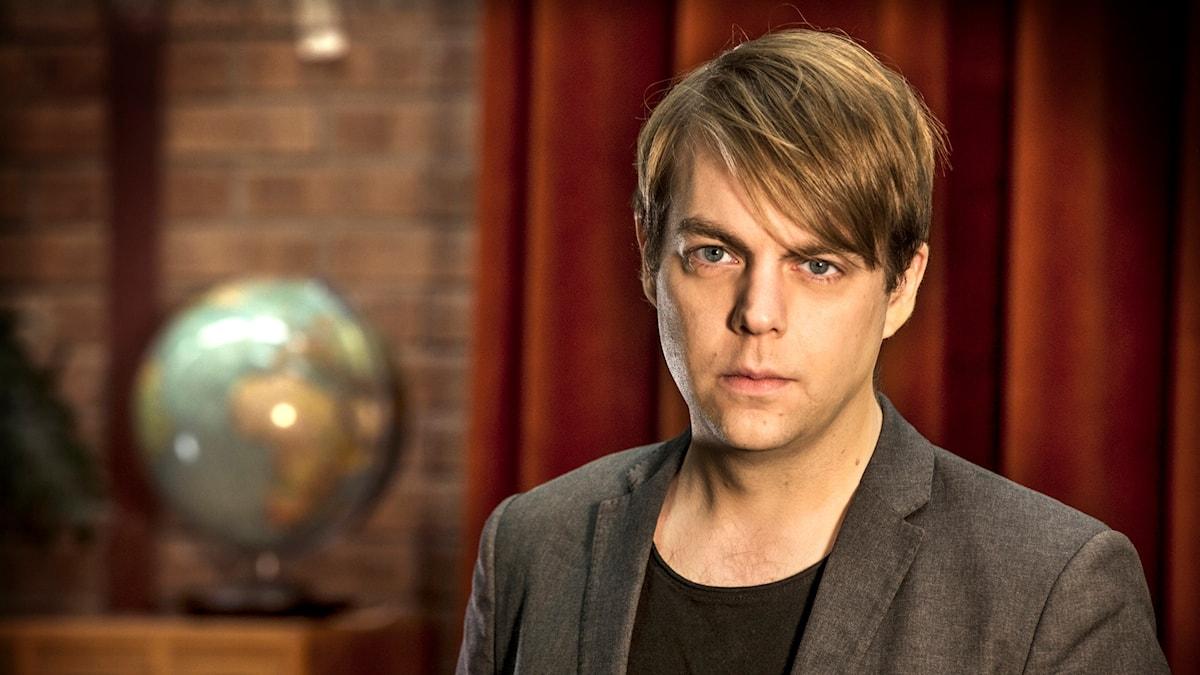 Kriminologen och författaren Christoffer Carlsson.