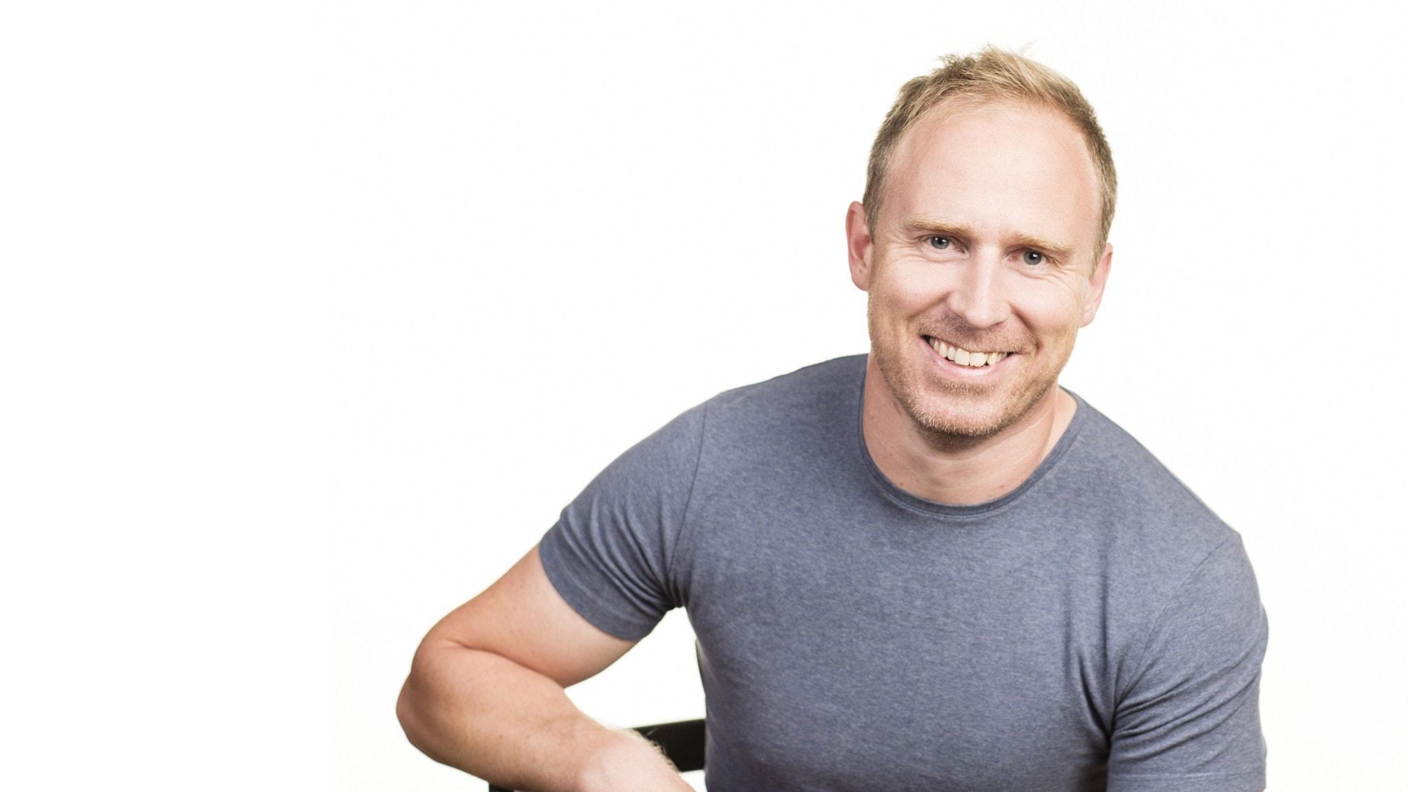Programledaren Martin Ekeholm i Klassisk morgon i P2.