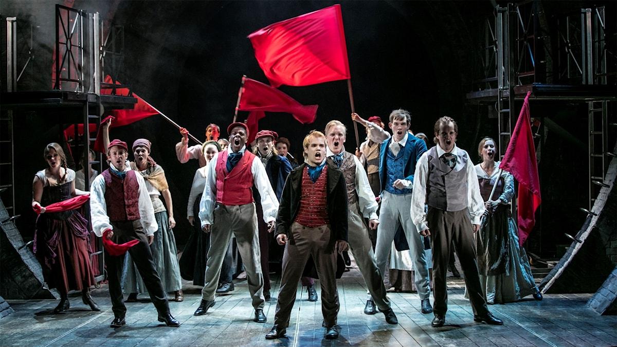 Wermlandsoperans uppsättning av Les Miserables.
