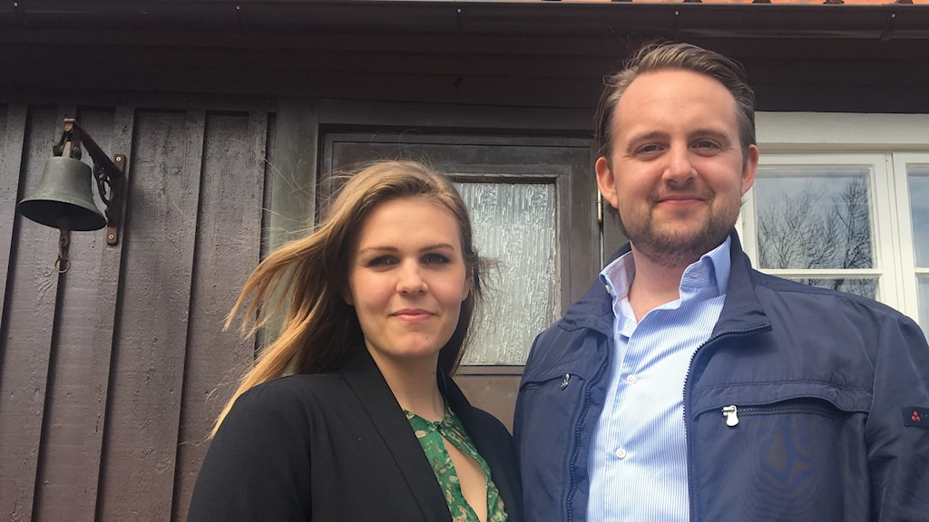 Birgit Nilssonstipendiaterna Elisabeth Meyer och Tobias Westman.