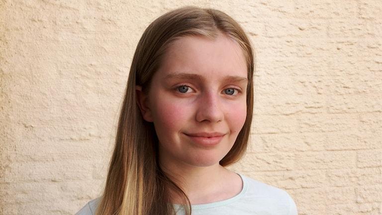 Klara Holm från Lerum.