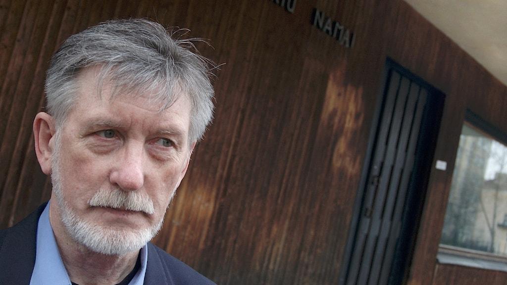 Tonsättaren Osvaldas Balakauskas.