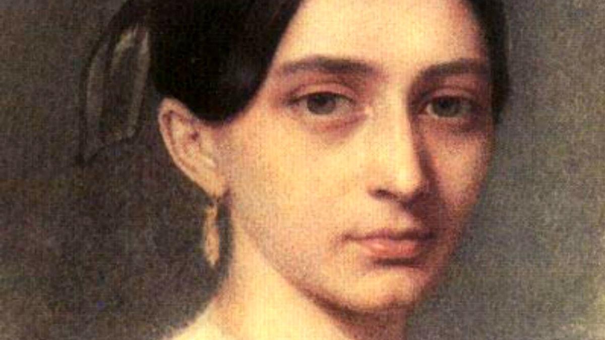 Clara Schumann. Johann Heinrich Schramm (1810-1865)