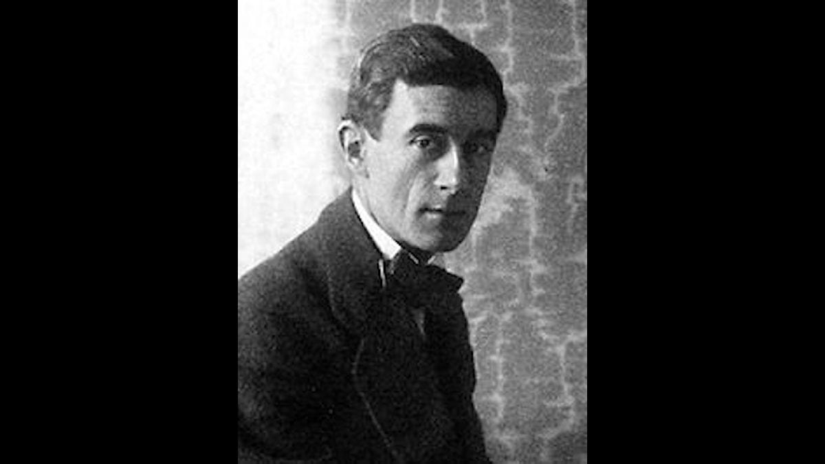 Maurice Ravel på ett foto från 1912