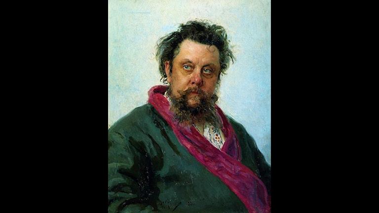 Ilja Repins berömda porträtt av Musorgskij