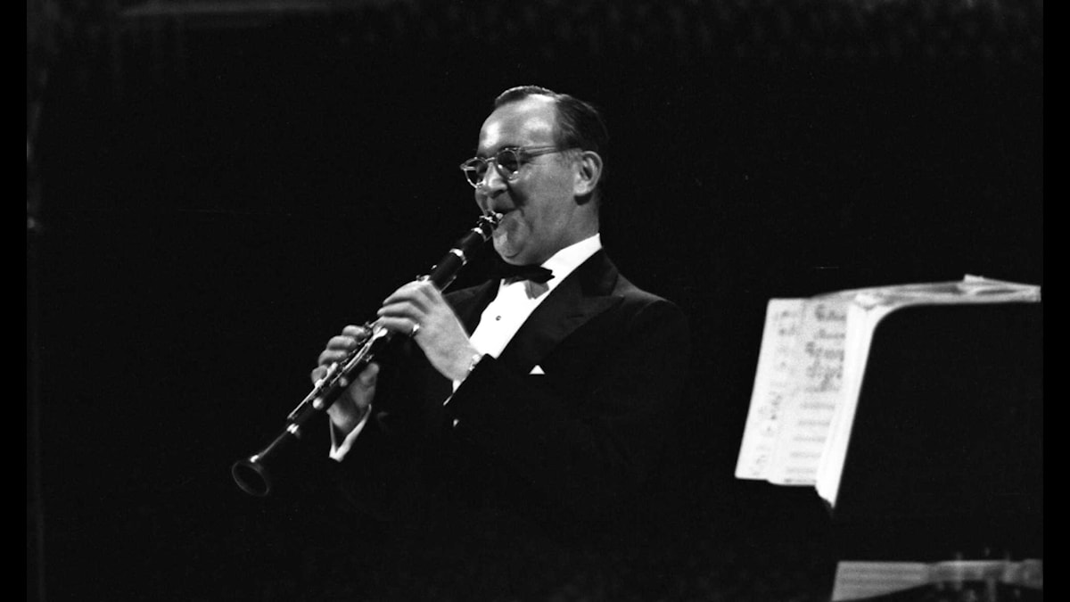 BENNY GOODMAN I STOCKHOLM 1958