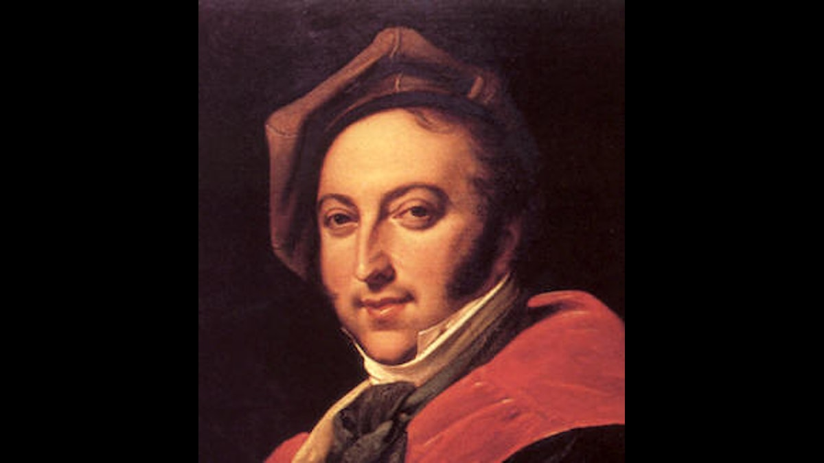 Rossini skrev också en opera baserad på en Shakespearepjäs. Hörs i programmet idag!