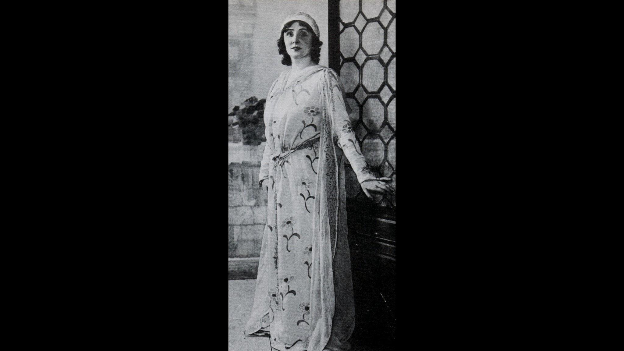 Florence Easton som Lauretta