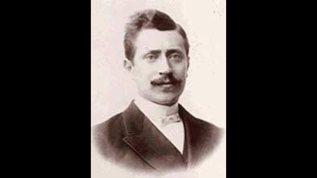 Verner von Heidenstam, av adlig börd och ganska högtravande i sitt skrivande.