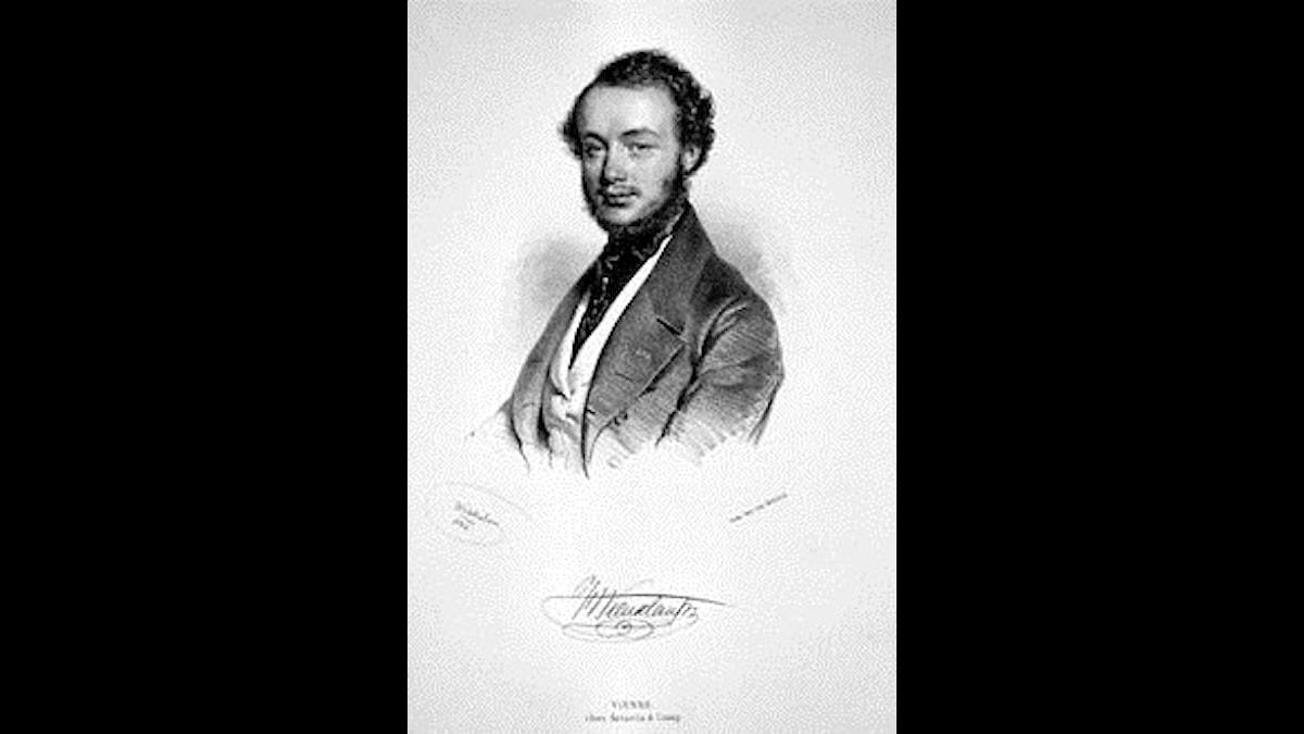 Belgiske violinister Henri Vieuxtemps