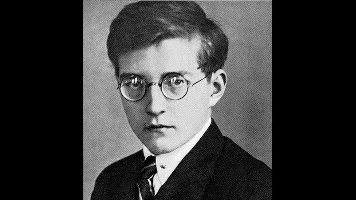 Dmitrij som ung, rätt allvarlig redan då.