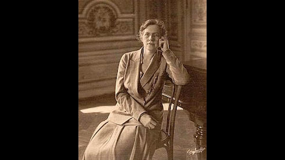 Nadja Boulanger på en bild från 1925