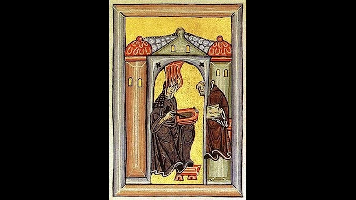 Hildegard av Bingen, en bildad och kraftfull kvinna