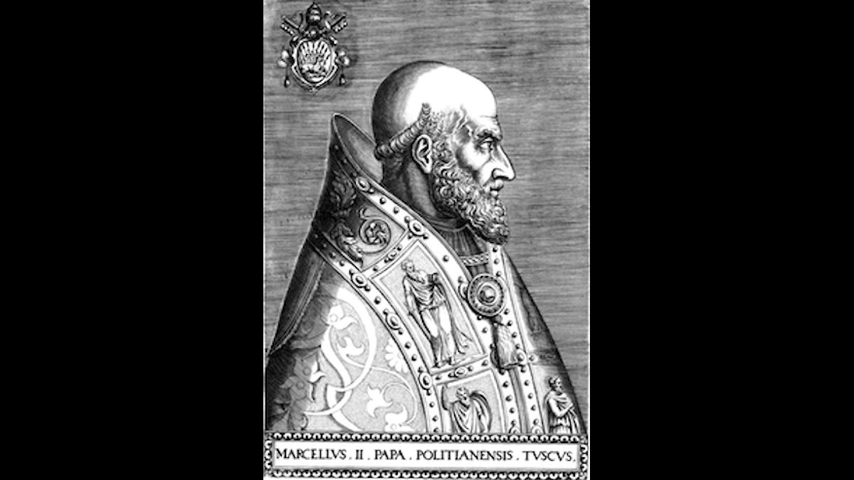 Marcellus II var bara påve i 22 dagar
