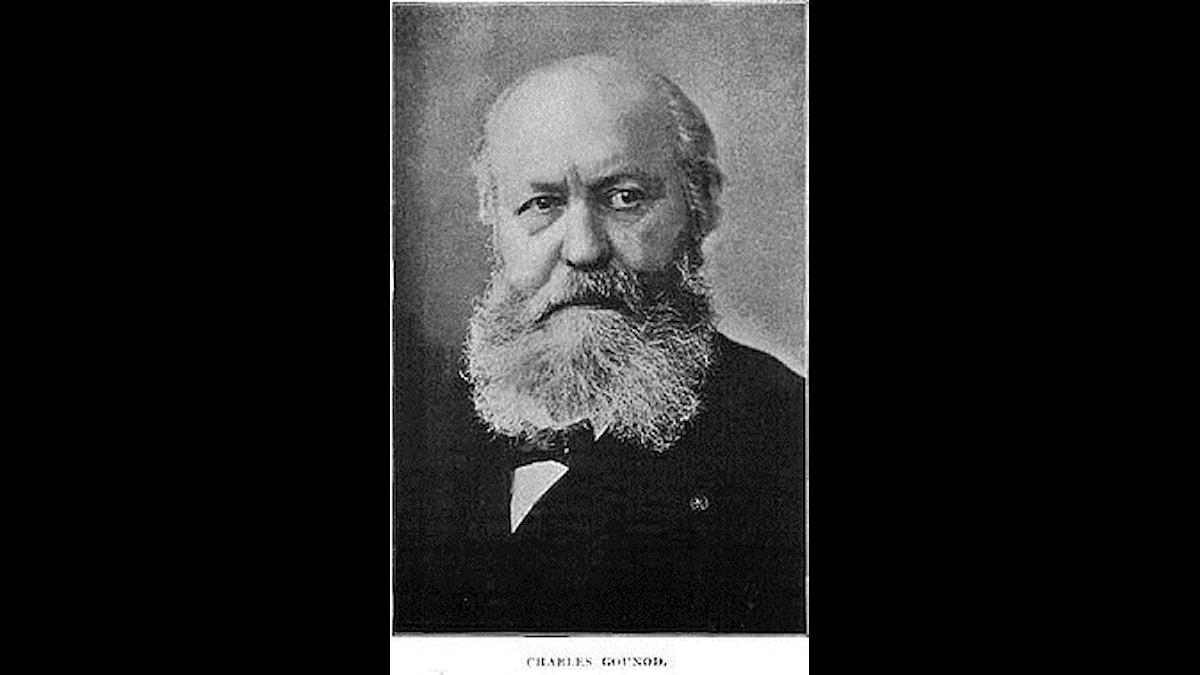 Charles Gounod hade nog fungerat som präst, fast då hade han inte hörts nu!