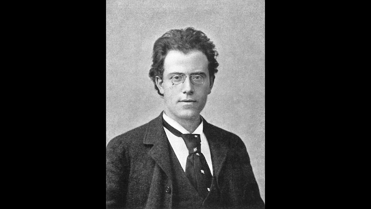 Gustav Mahler som ganska ung och ännu inte drabbat av sitt svaga hjärta