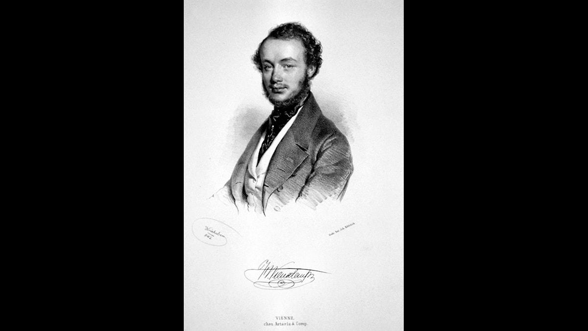 Henri Vieuxtemps på väg mot livets höjdpunkter, 1840-talet