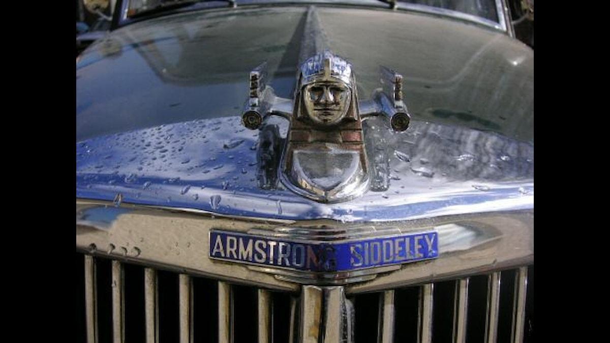 Armstron Siddeleys sfinx med nån sorts reamotorer bredvid... Bild: Norbert Schnitzler