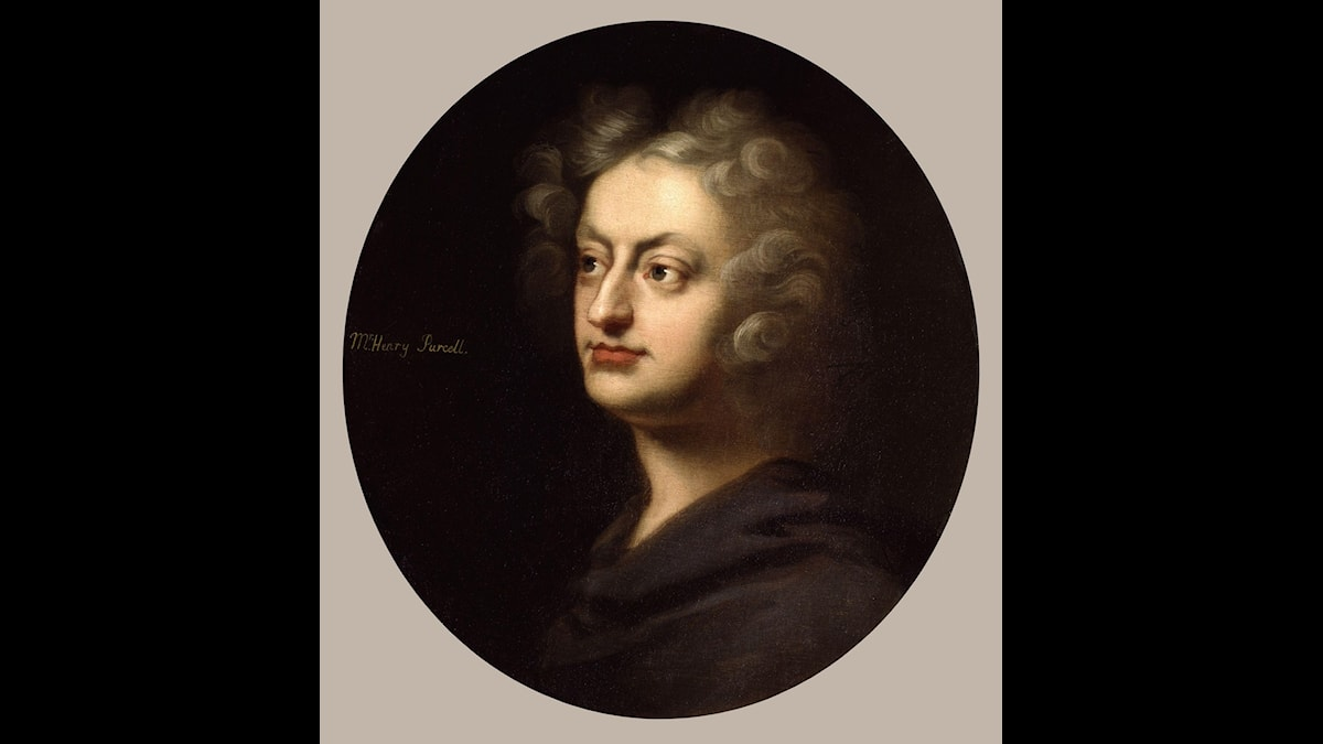 Henry Purcell målad av John Closterman