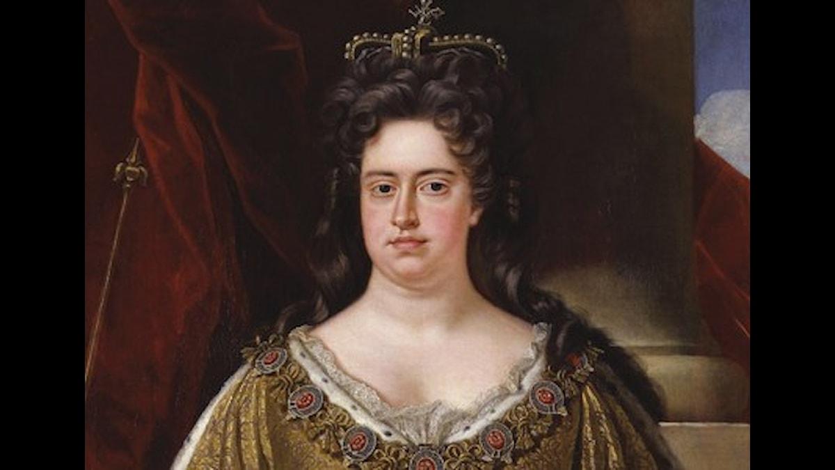 Drottning Anne av England fick musik av Jean Mouton