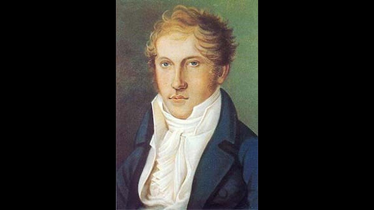 Louis Spohr, ett självporträtt. Han kunde måla också!