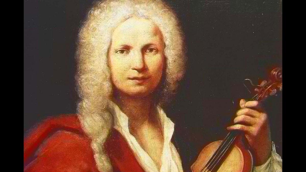 Vivaldi med sin älskade fiol