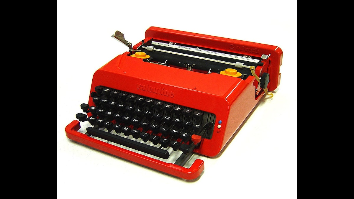 Det kunde lika gärna blivit en skrivmaskin som ett piano, men den tog barnbarnet hand om!