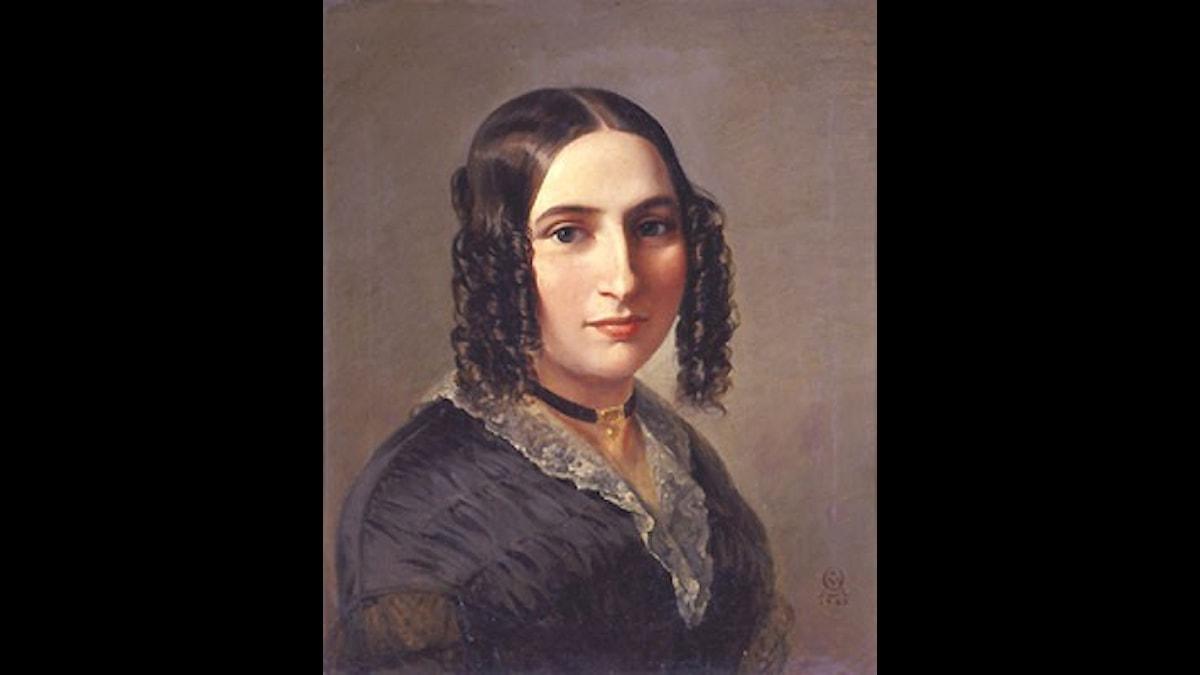 Fanny Hensel fick vykort av brorsan med toner på!