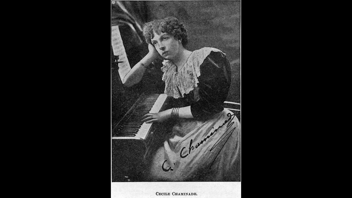 Cécile Chaminade skrev mycket och var uppskattad