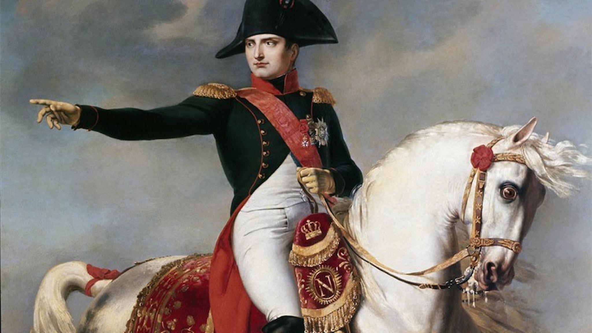 Napoleon till häst