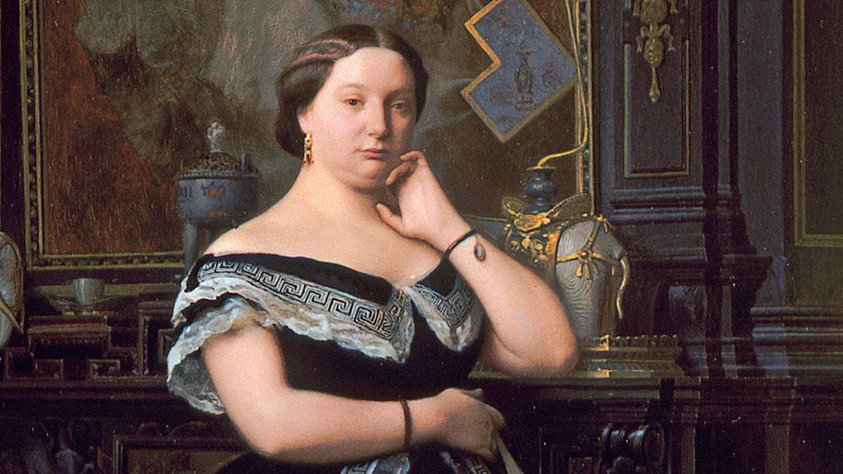 Charlotte Rothschild,  målad av Jean-Léon Gérôme