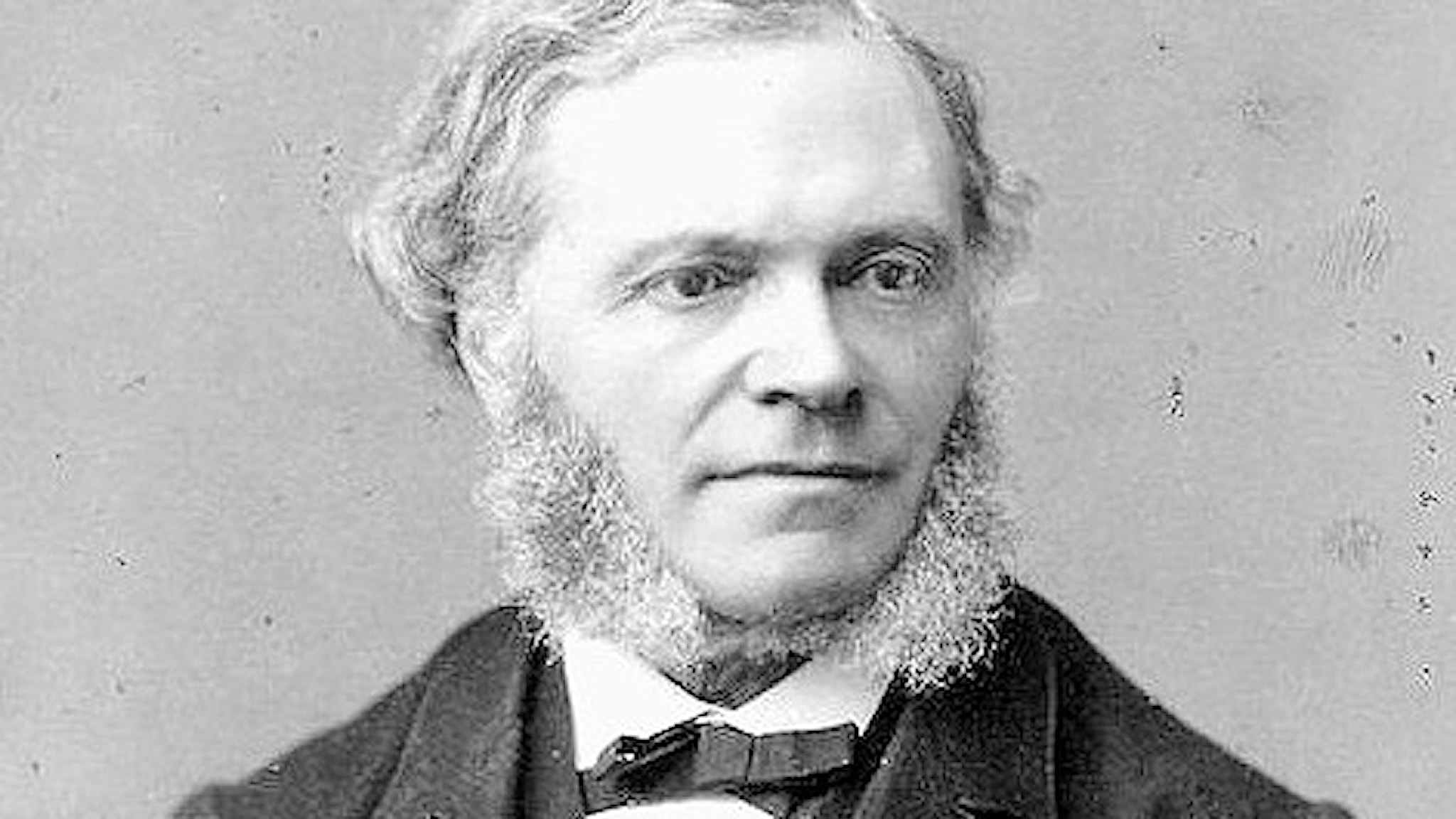 César Franck (1822-1890) fotograferad av Pierre Petit (1832-1909).
