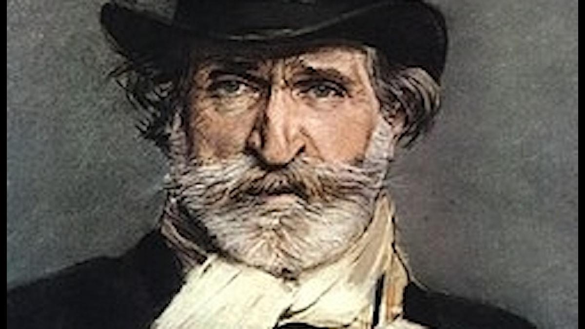 Guiseppe Verdi, målning av Giovanni Boldini