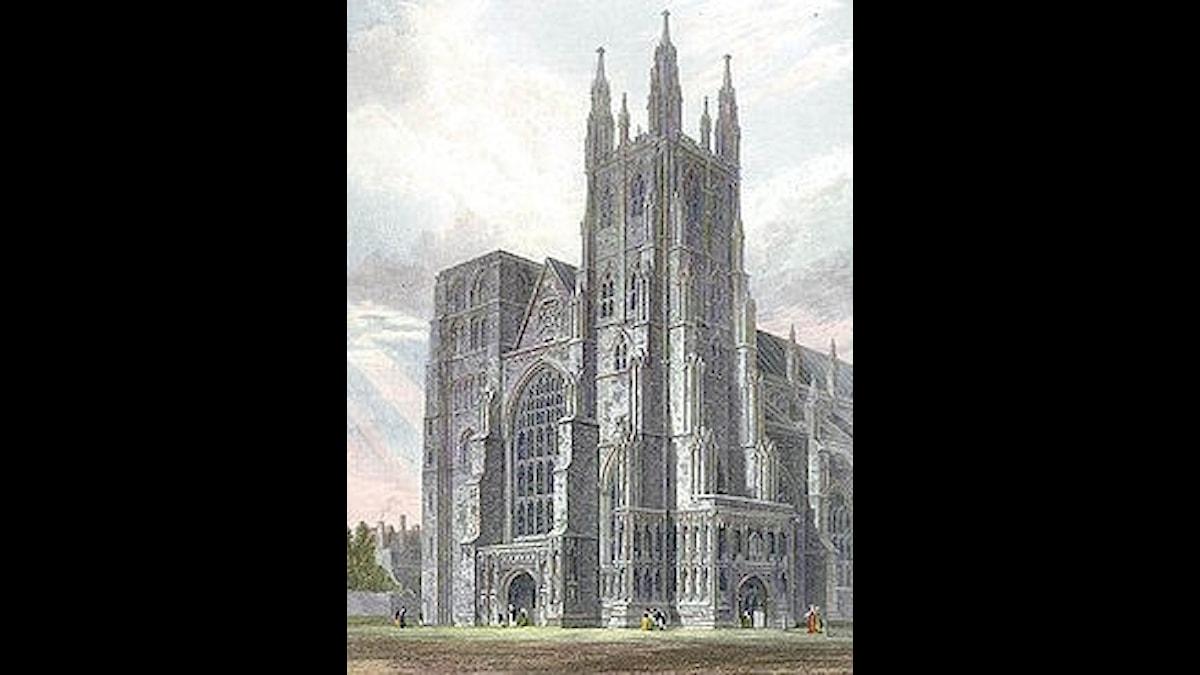 Canterbury Cathedral, där jobbade Leonel Power