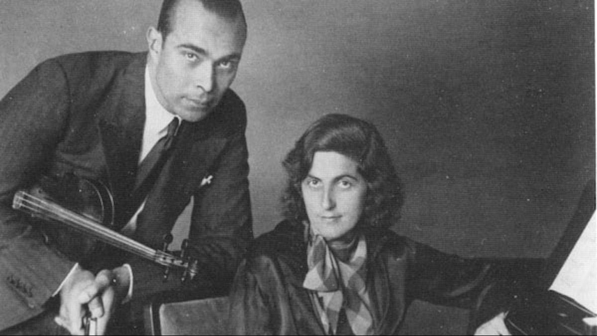 Henriette Bosmans och Francis Koene